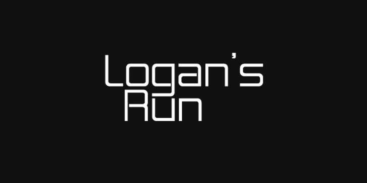 Logan Five font preview
