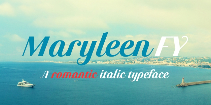 Maryleen FY font preview
