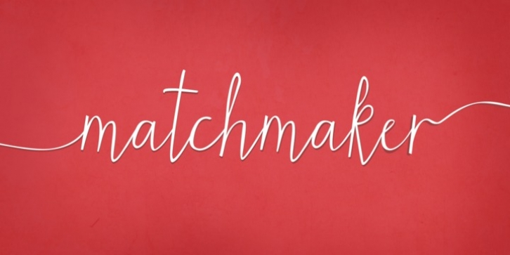 Matchmaker font preview