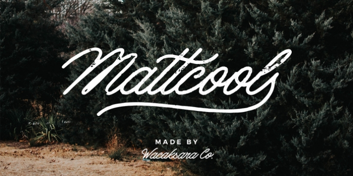Mattcool font preview