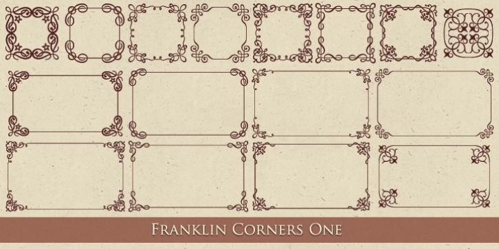 MFC Franklin Corners One font preview