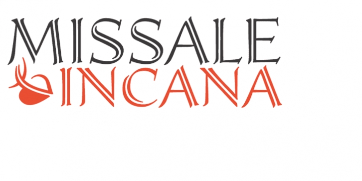 Missale Incana font preview