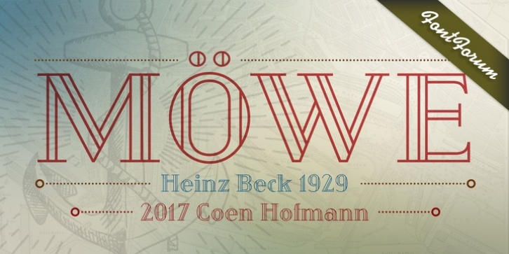 Moewe font preview