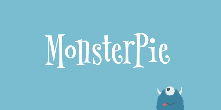 MonsterPie font preview