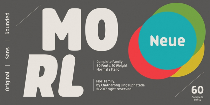 Morl font preview