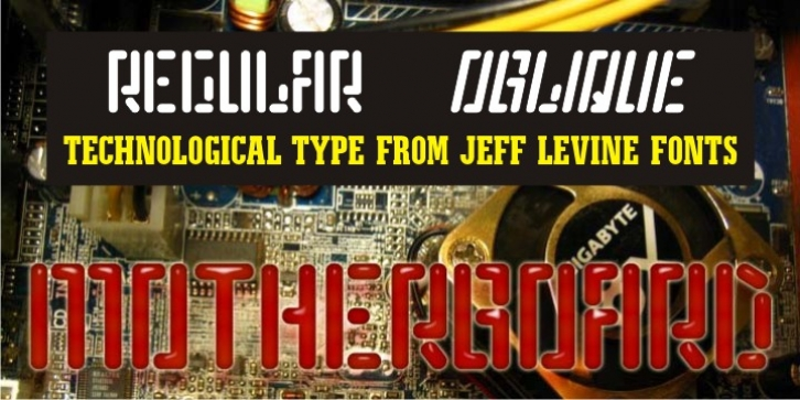 Motherboard JNL font preview