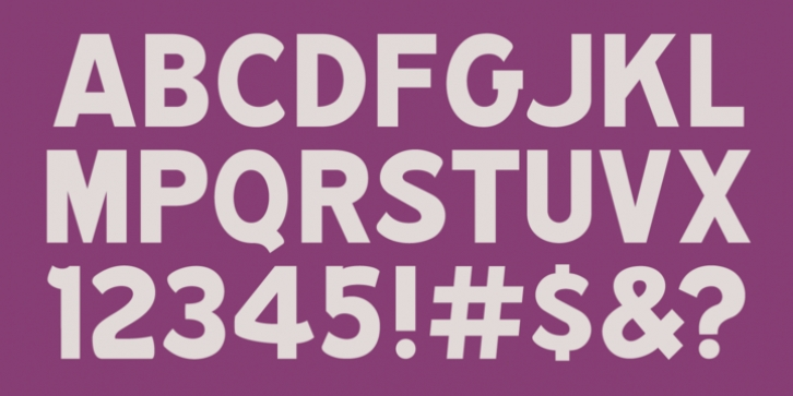 MPI Republic Gothic font preview