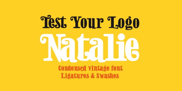 Natalie font preview