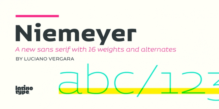 Niemeyer font preview