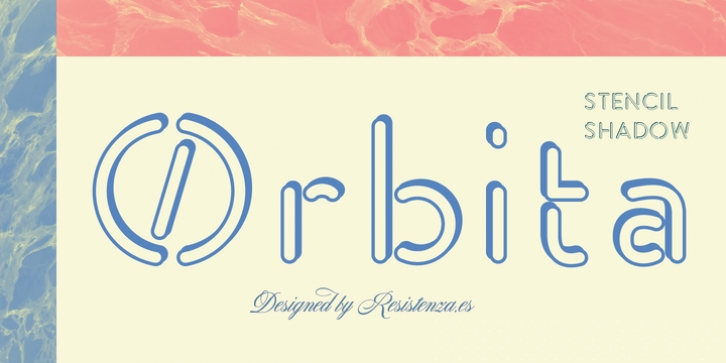 Orbita font preview