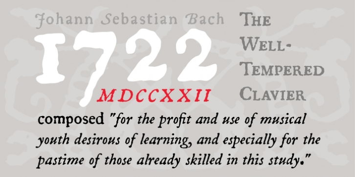 P22 1722 font preview