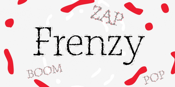 P22 Frenzy font preview