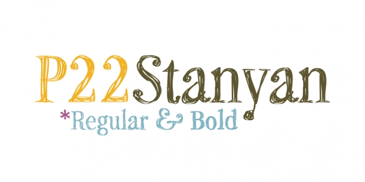 P22 Stanyan font preview