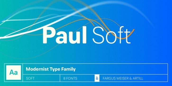Paul Grotesk Soft font preview