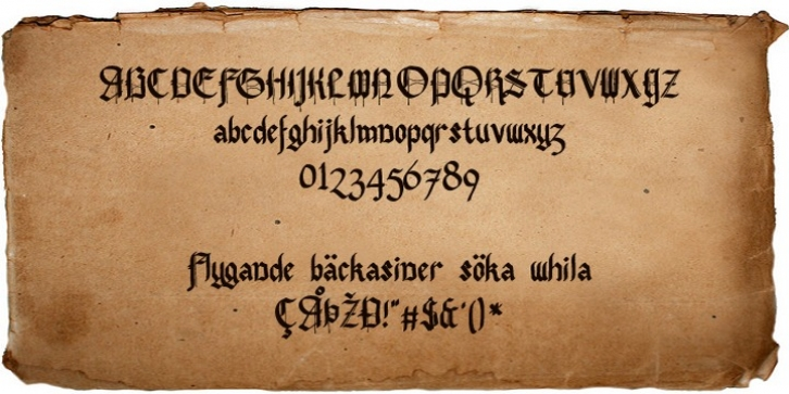 Pennybridge 1563 font preview