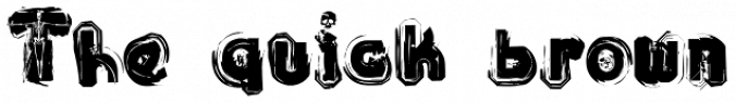 Sick Skull Font Preview