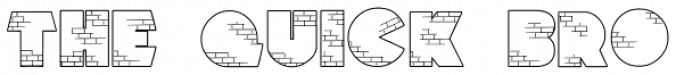 Brick City font download