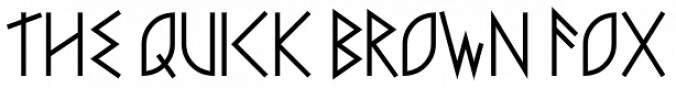 Faux Runic font download