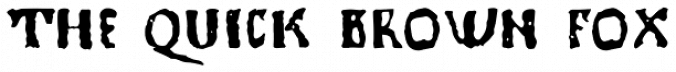 1350 Primitive Russian Font Preview