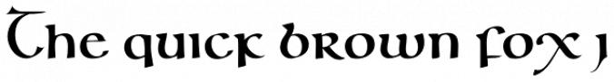 Majuscule Font Cal Insular Majuscule Font