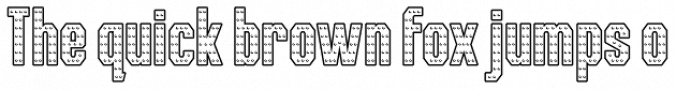 Iron Font Iron Man of War Font Preview