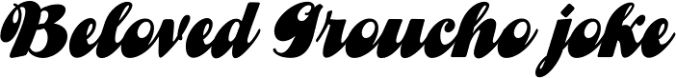Gibson Girl JF Font Preview