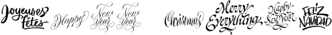 Xmas Wishes font download