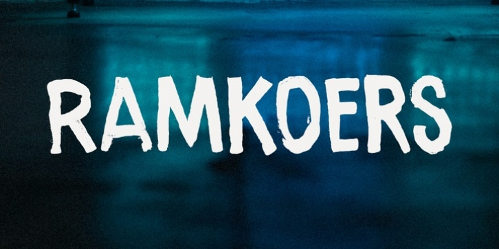 Ramkoers font preview