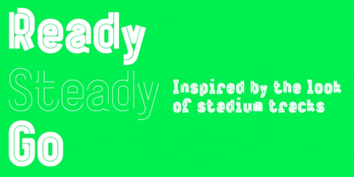 ReadySteadyGo font preview