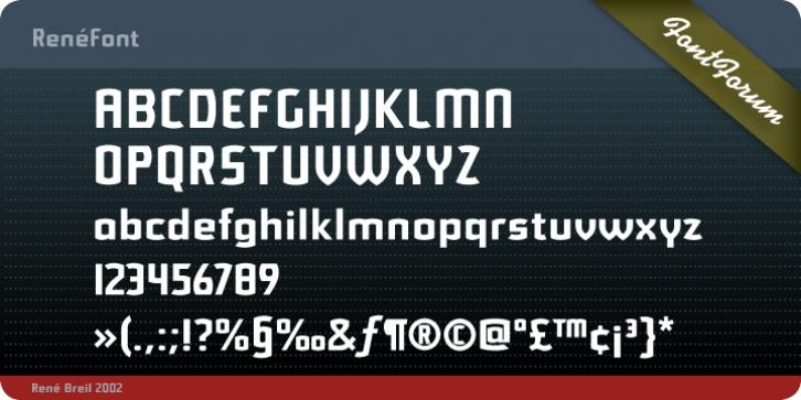 redensek font