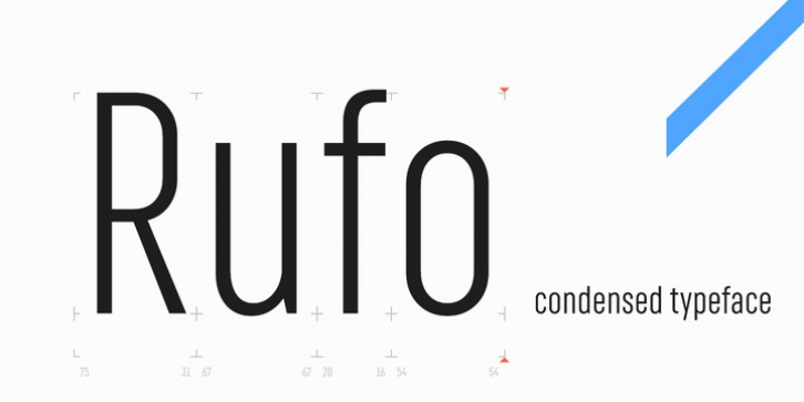 RF Rufo font preview