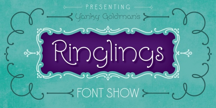 Ringlings font preview