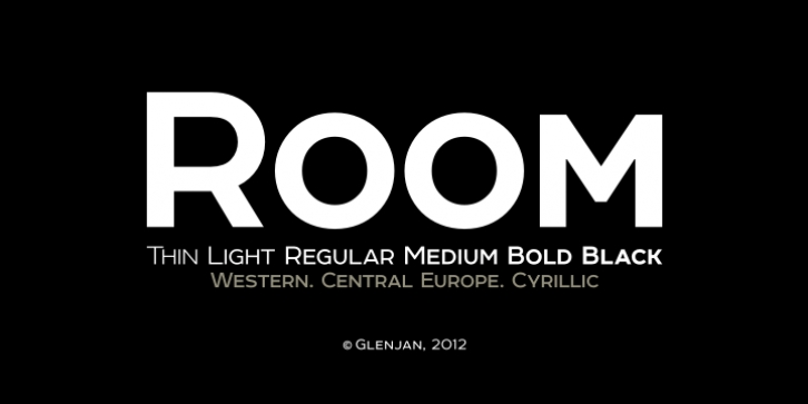 Room font preview