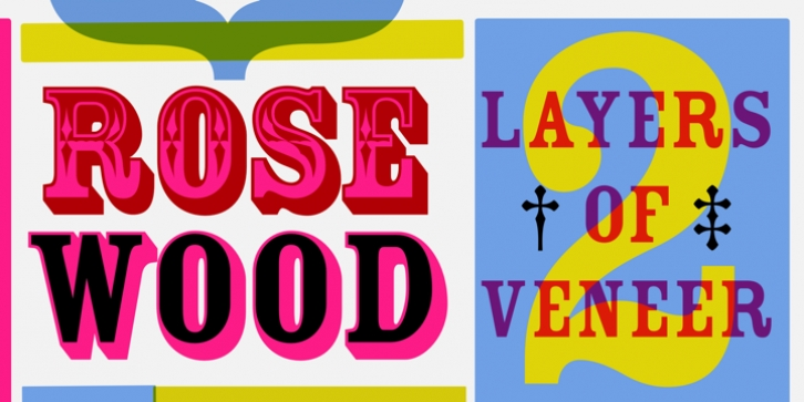 Rosewood font preview