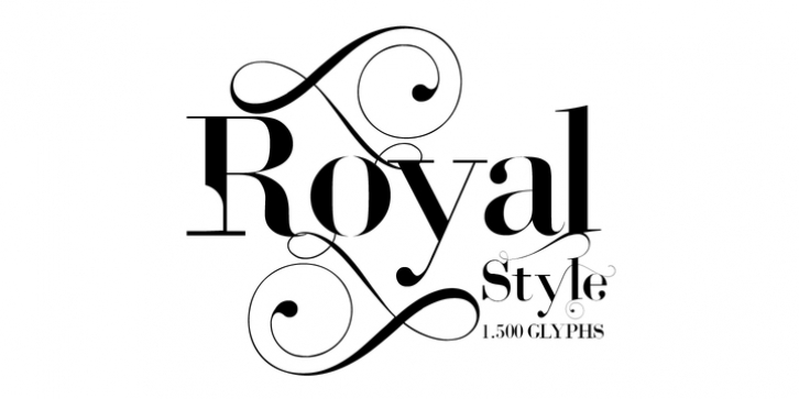 Royal Style font preview