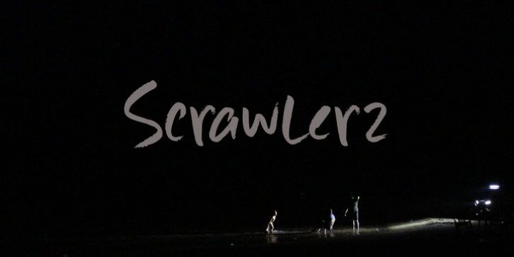 Scrawlerz font preview