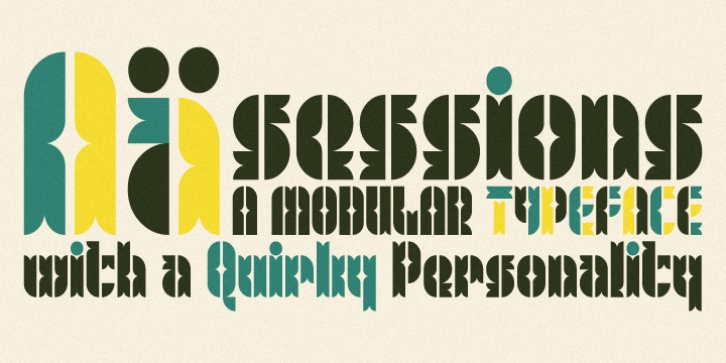 Sessions font preview