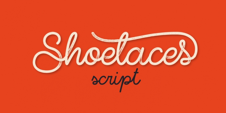Shoelaces font preview