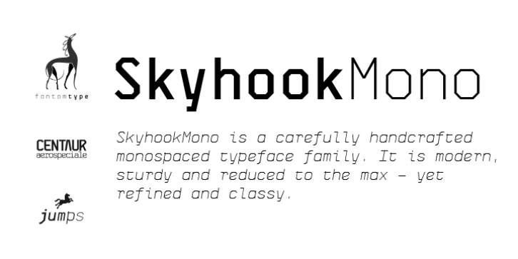 Skyhook Mono font preview