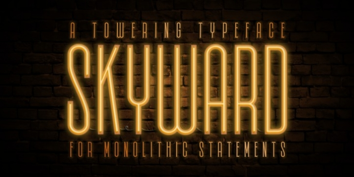 Skyward font preview