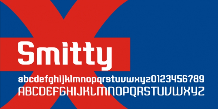 Smitty font preview
