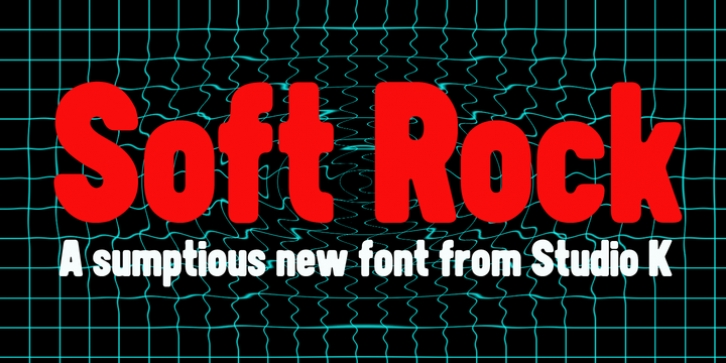 Soft Rock font preview