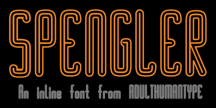 SPENGLER font preview