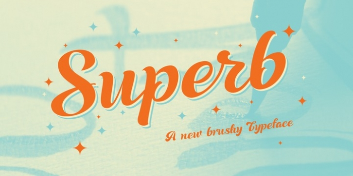 Superb font preview