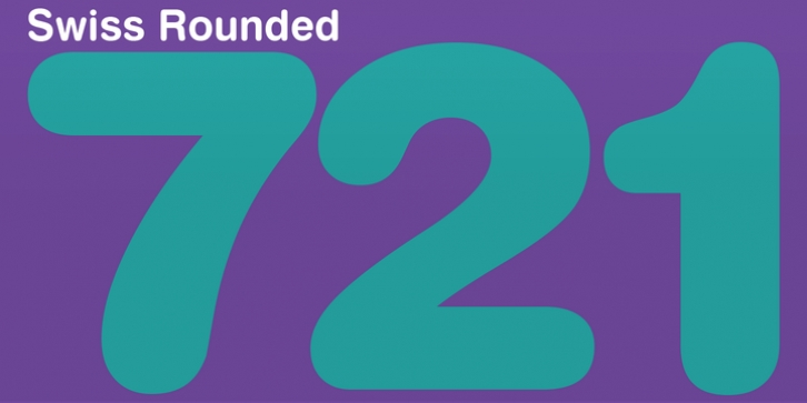 Swiss 721 Rounded font preview