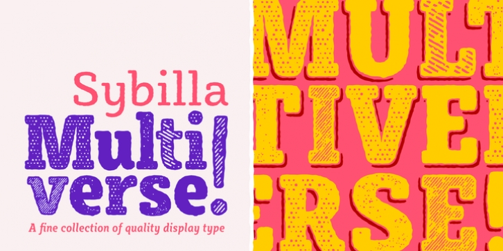 Sybilla Multiverse font preview