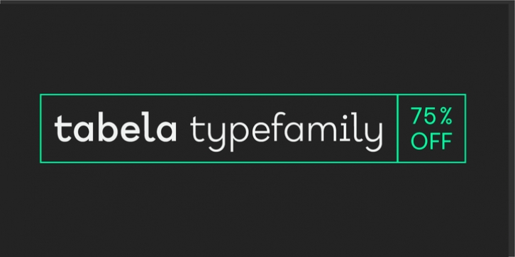 Tabela font preview