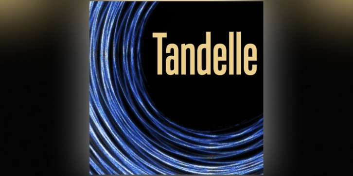 Tandelle font preview