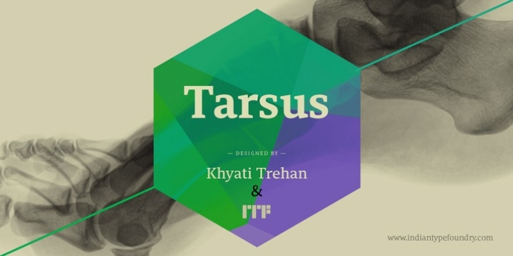 Tarsus font preview