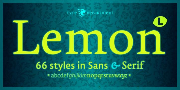 TD Lemon Font Download